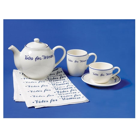 "The ""Votes for Women"" Collection - Cup and Saucer"