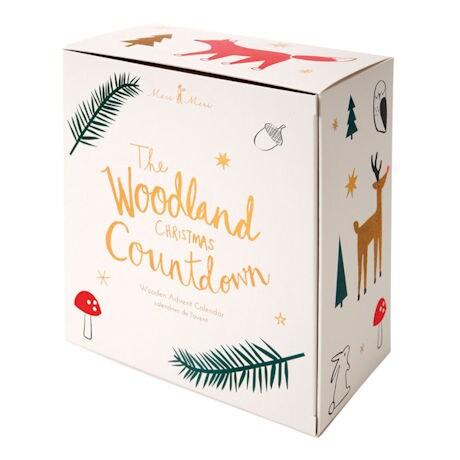 Woodland Christmas Countdown