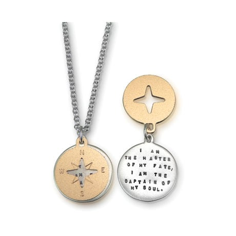 Master of My Fate Compass Necklace