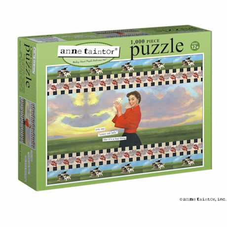 Crazy Cat Lady Puzzle