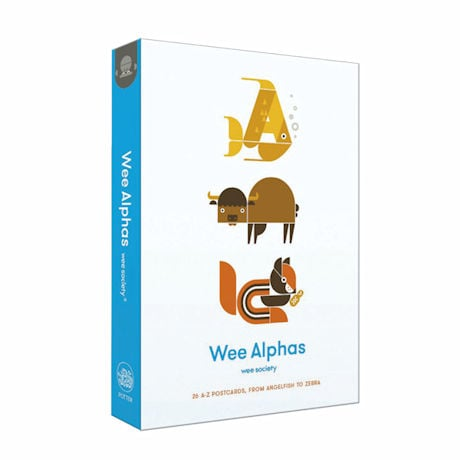 Wee Alphas Postcards