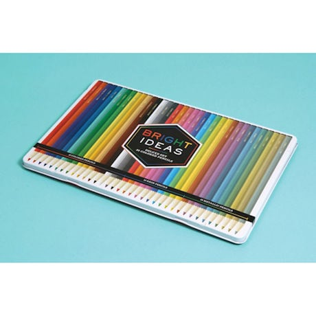 Bright Ideas Deluxe Colored Pencils Tin