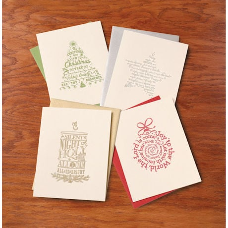 Christmas Carols Cards