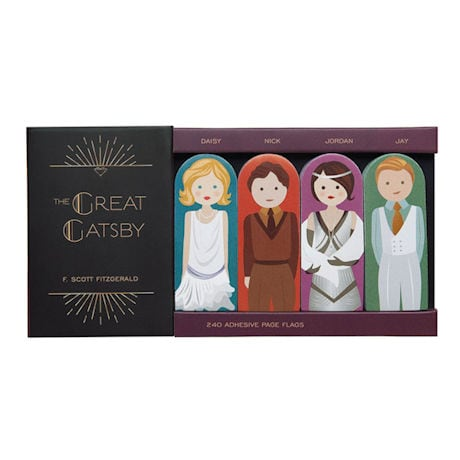 Classic Character Sticky Notes - Great Gatsby