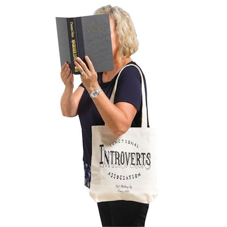 Introverts Tote Bag