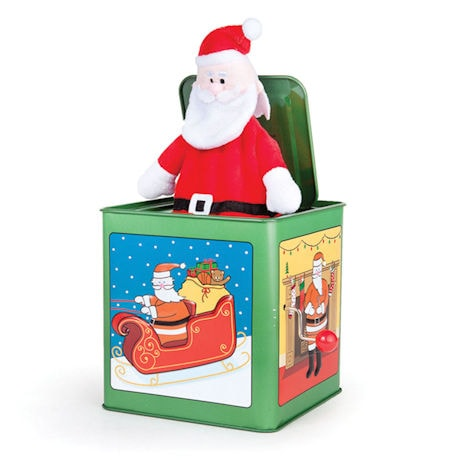 Santa Jack-in-the-Box