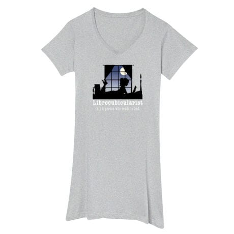 Librocubicularist Night Shirt