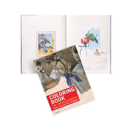 Impressionists Coloring Book: From Caillebotte to Manet