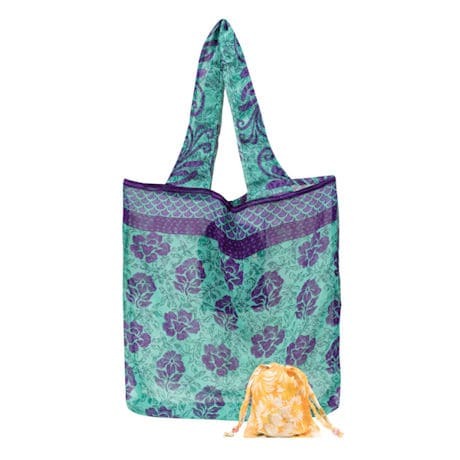 Upcycled Sari Pocket Bag