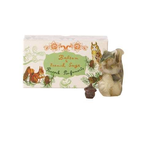 Balsam and Sage Wax Squirrel