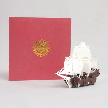Friend-Ships Pop-Up Card
