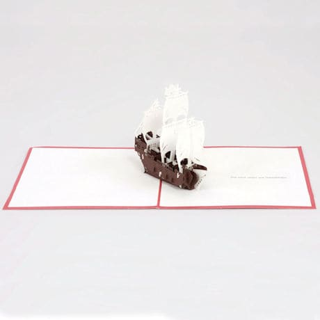 Friend-Ships Pop-Up Greeting Card