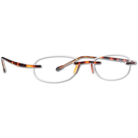 Tortoise Gel Reading Glasses