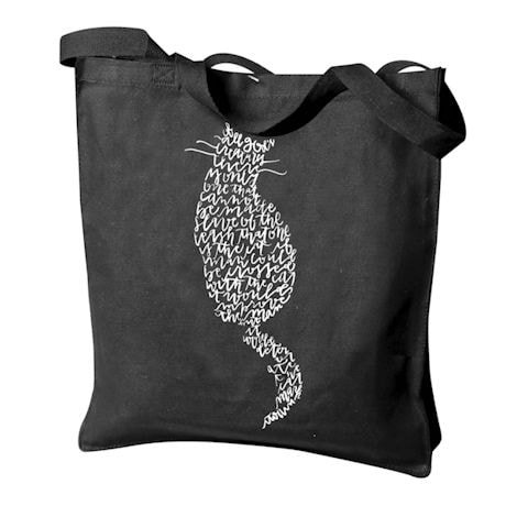 Mark Twain Cat Tote