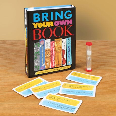 Bring Your Own Book Game