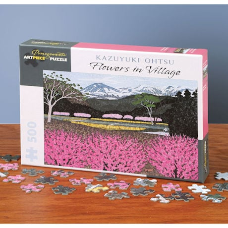 Flowers in Village Puzzle