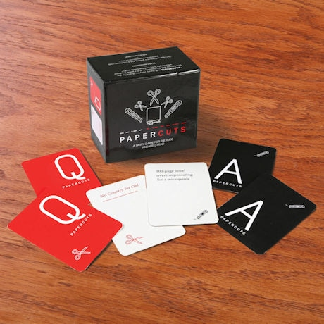 Paper Cuts Card Game
