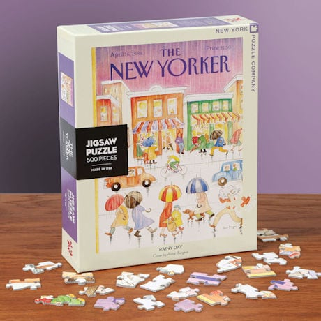 Rainy Day New Yorker Puzzle