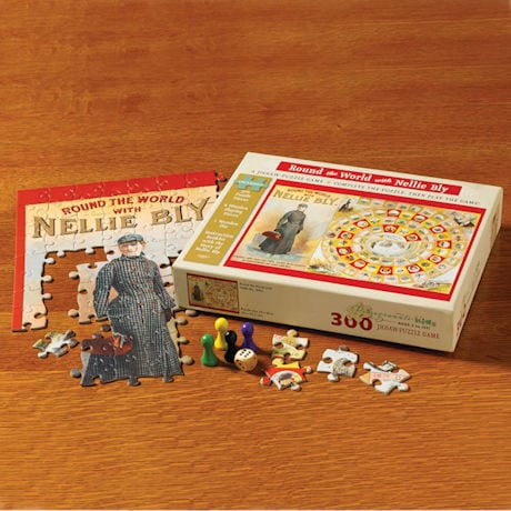 Round the World with Nellie Bly Game/Puzzle