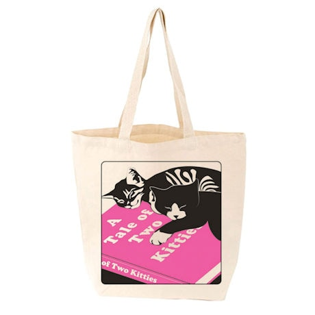 <i>A Tale of Two Kitties</i> Tote