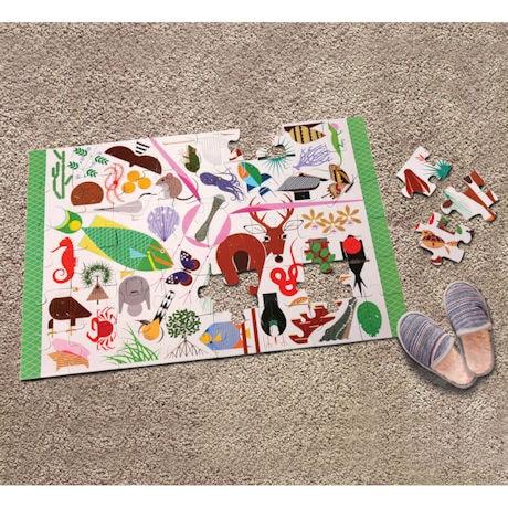 Wildlife Wonders Floor Puzzle