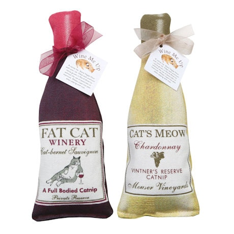 Wine Me Up Catnip Toys
