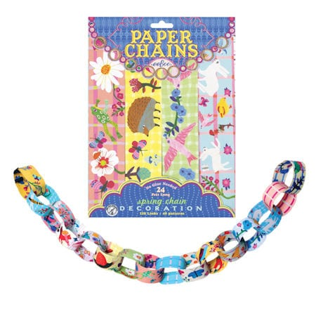 Spring Paper Chains