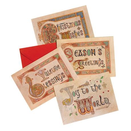 Irish Celtic Illuminations Holiday Cards