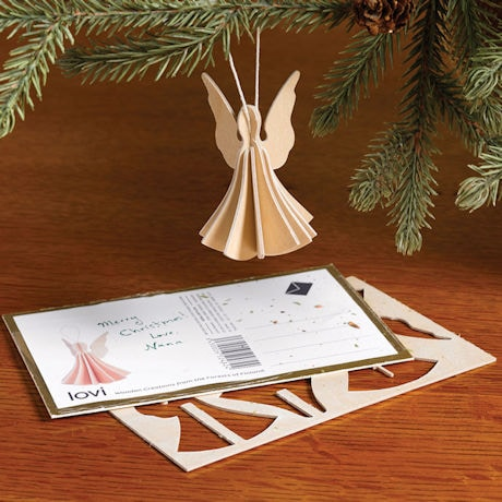 Wooden Angel Postcard