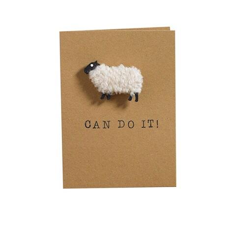 Woolly Ewe Magnet Cards: Ewe Can Do It