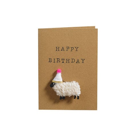 Woolly Ewe Magnet Cards: Happy Birthday Ewe