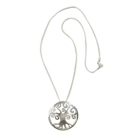 Tree of Life Sterling Silver Pendant with Chain