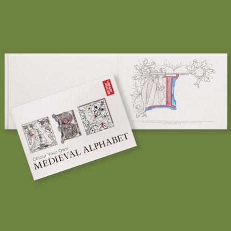 Colour Your Own Medieval Alphabet