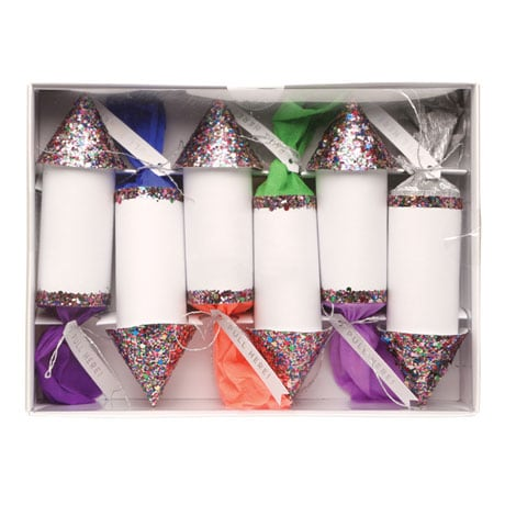 Confetti Rocket Poppers - Set of six