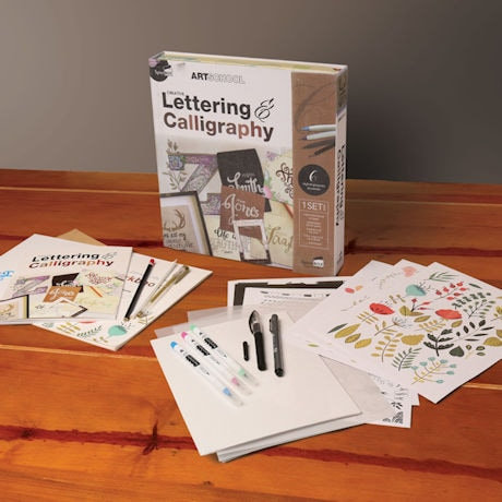 Creative Lettering and Calligraphy Set