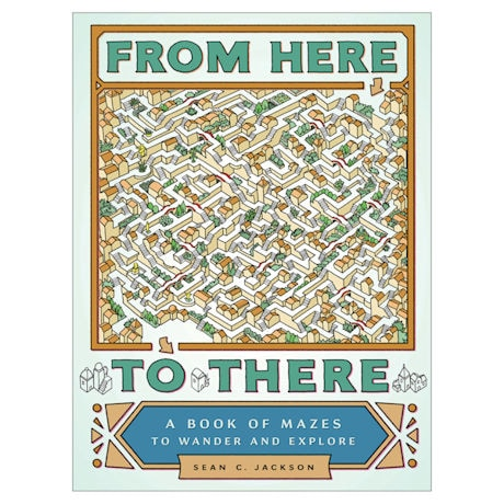 From Here to There Maze Book
