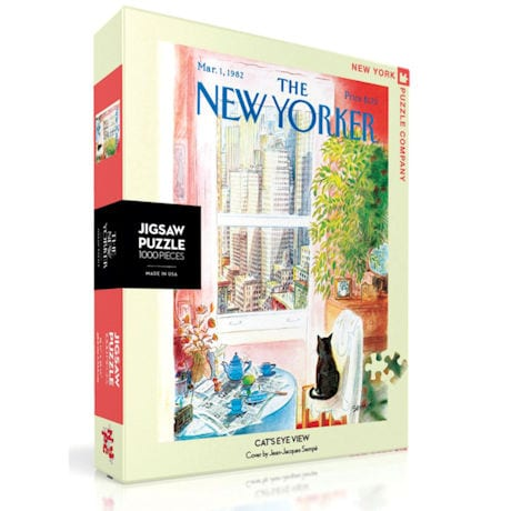 Cat's-Eye View New Yorker Puzzle