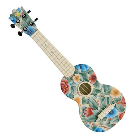 Tropical Flowers Ukulele