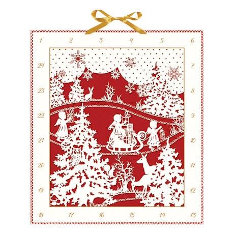 Woodland Silhouette Advent Calendar