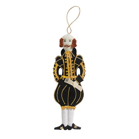 William Shakespeare Ornament