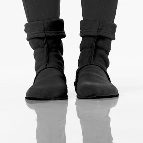 Booties: Black