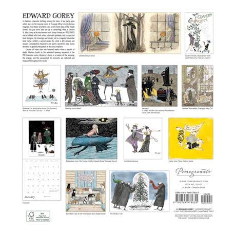 2018 Edward Gorey Wall Calendar