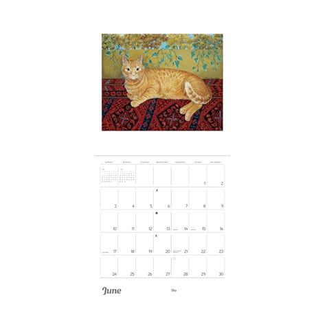 2018 Mimi Vang Olsen's Cats Wall Calendar