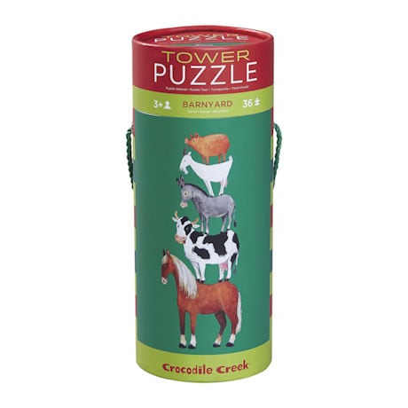 Barnyard Tower Puzzle
