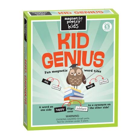 Kid Genius Magnetic Poetry