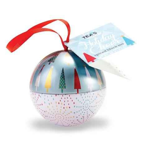Tea Ornament: Holiday Cheer