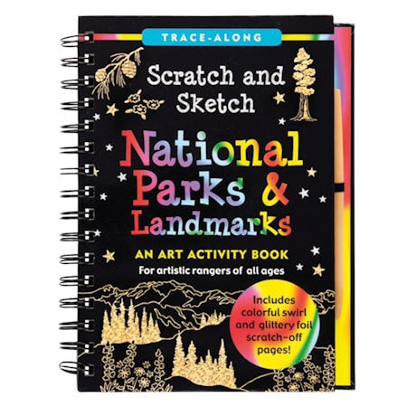 National Parks Scratch and Sketch