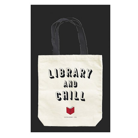 Library and Chill Tote Bag