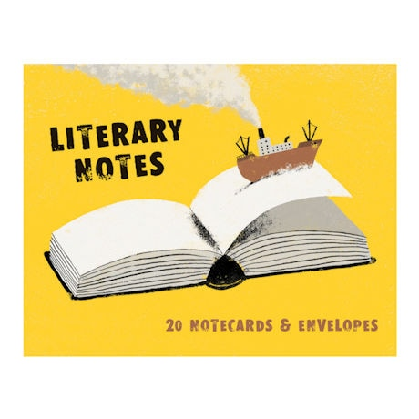 Literary Notes Note Cards