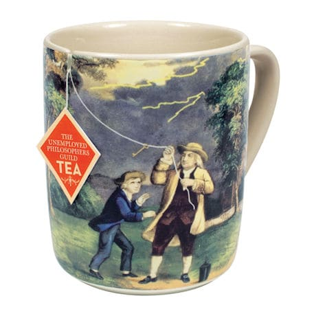 Benjamin Franklin Electrici-Tea Mug